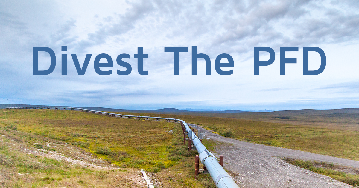 Divest the PFD — Alaskans Know Climate Change
