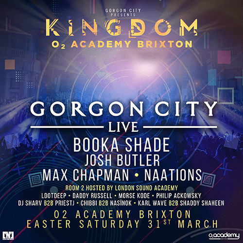 Gorgon City at 02 Academy Brixton Supported by LSA Graduates