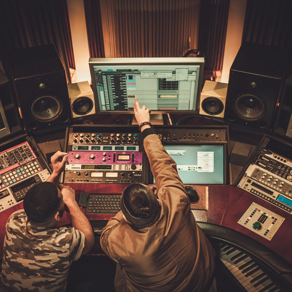 Sampling in music production
