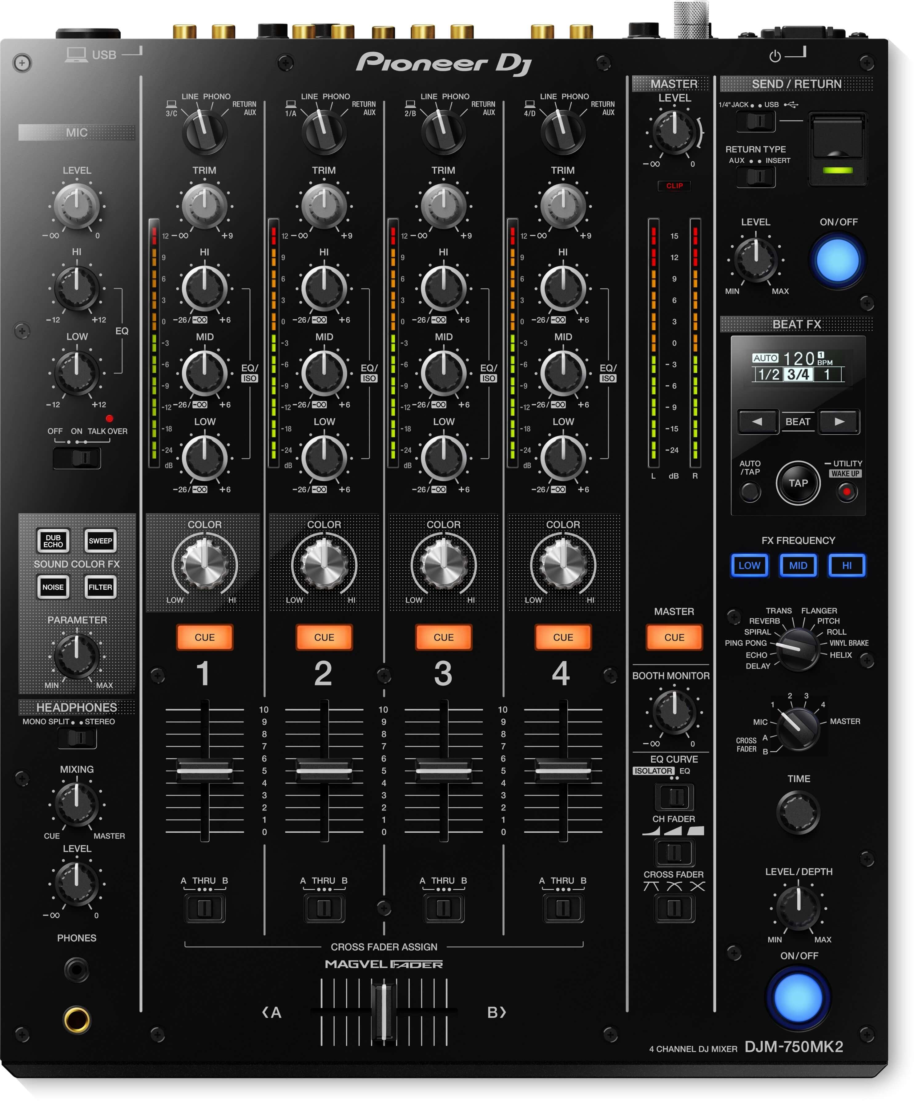 Pioneer DJM 750 Mixer