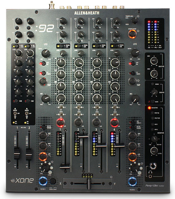 Allen & Heath Xone 92 Four Channel DJ Mixer