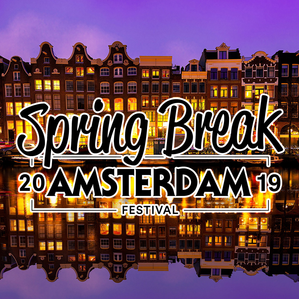 DJ in Amterdam with LSA & Spring Break 2019
