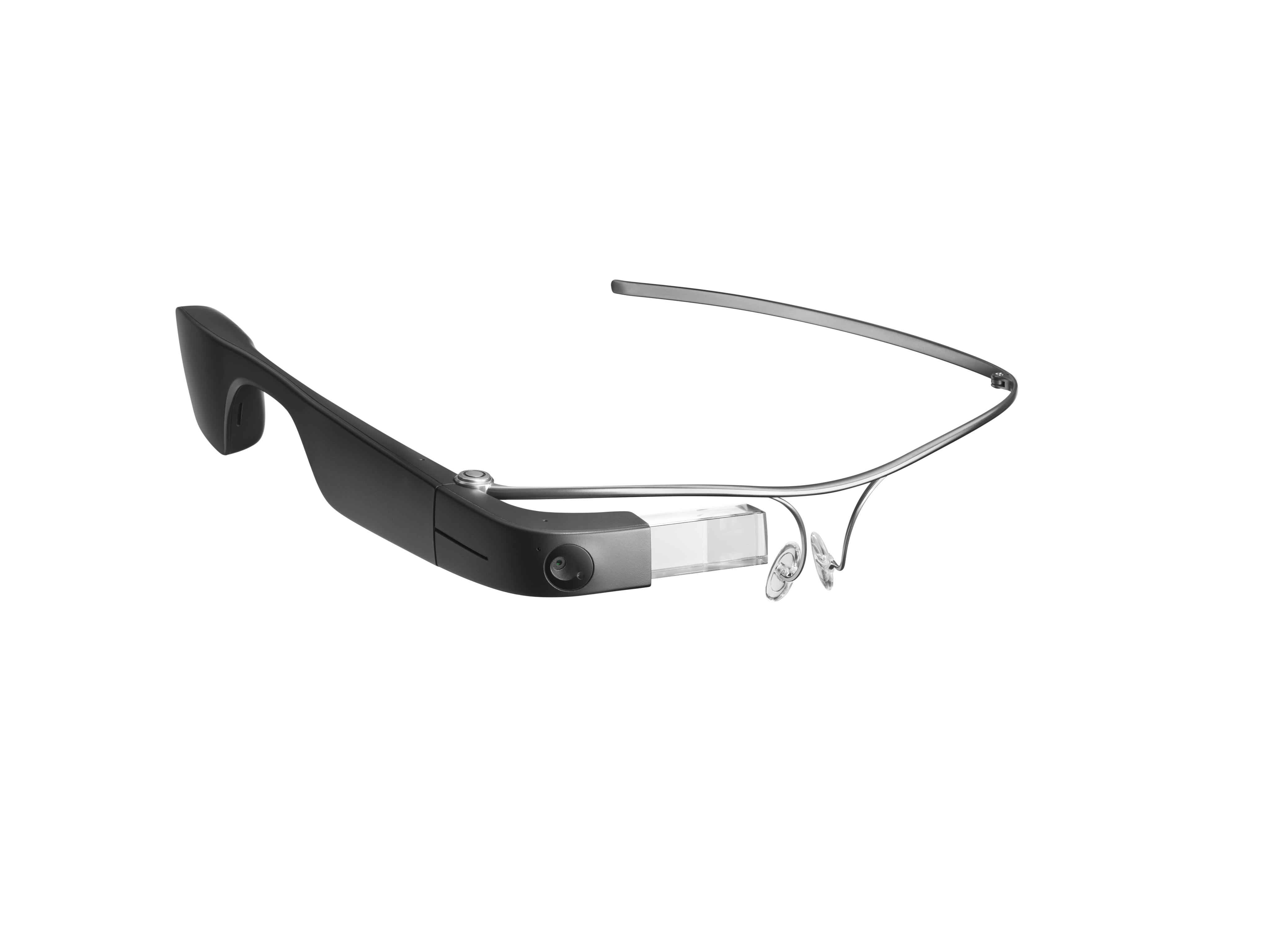 An angled view of the Envision Glasses