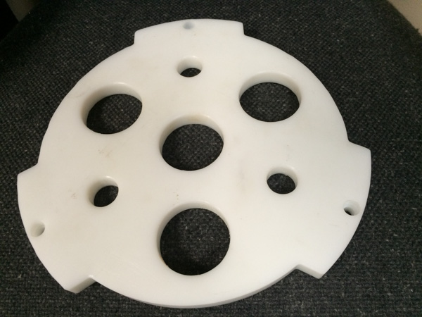 HDPE Machined Part