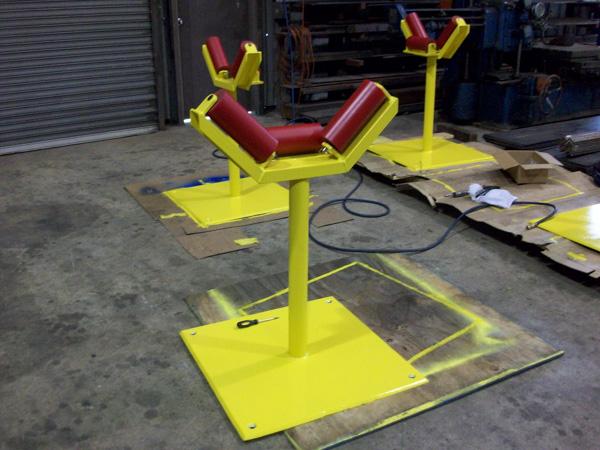 Custom Roller Stands