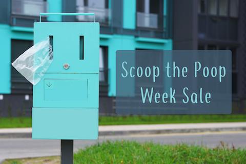 It's Scoop the Poop Week
