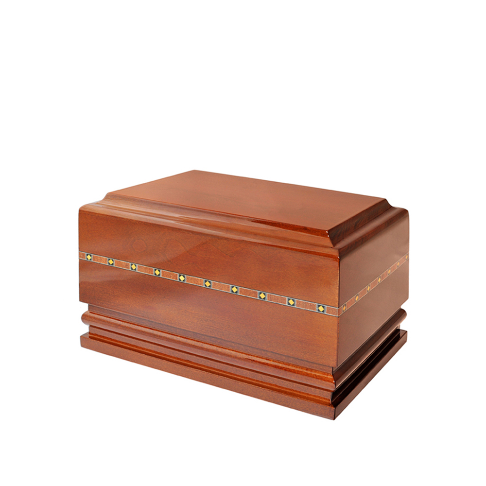 Klasyczna urna drewniana