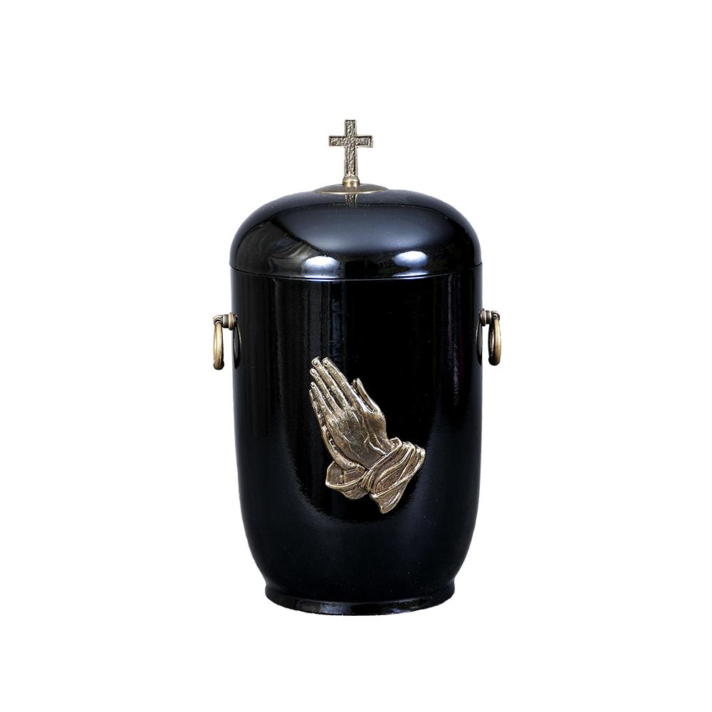 Urna kompozytowa ze zdobieniem