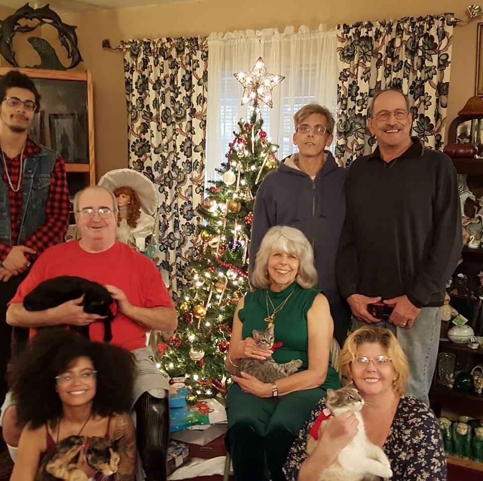 Reilly family christmas.