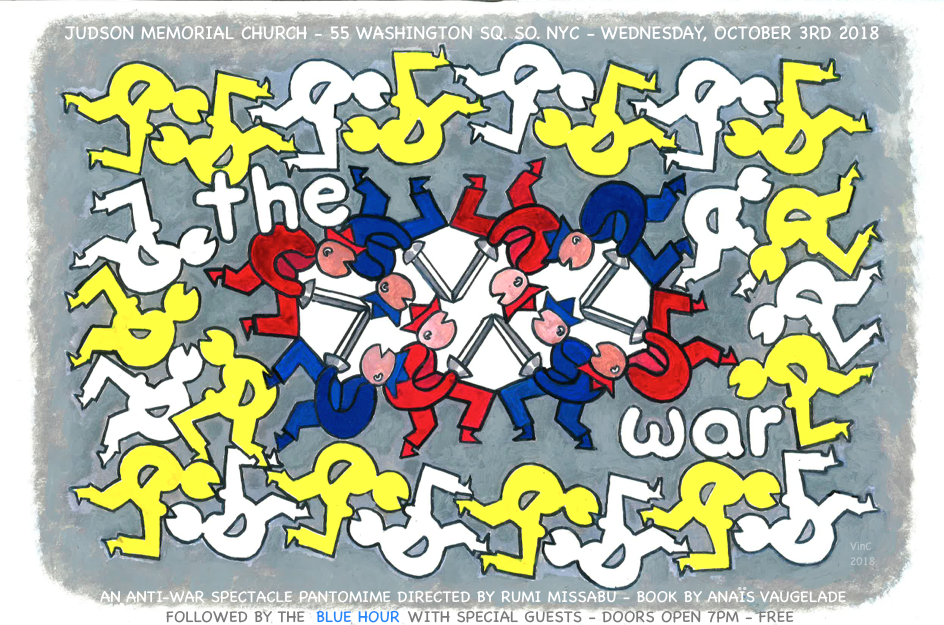 Poster for 'The WAR'