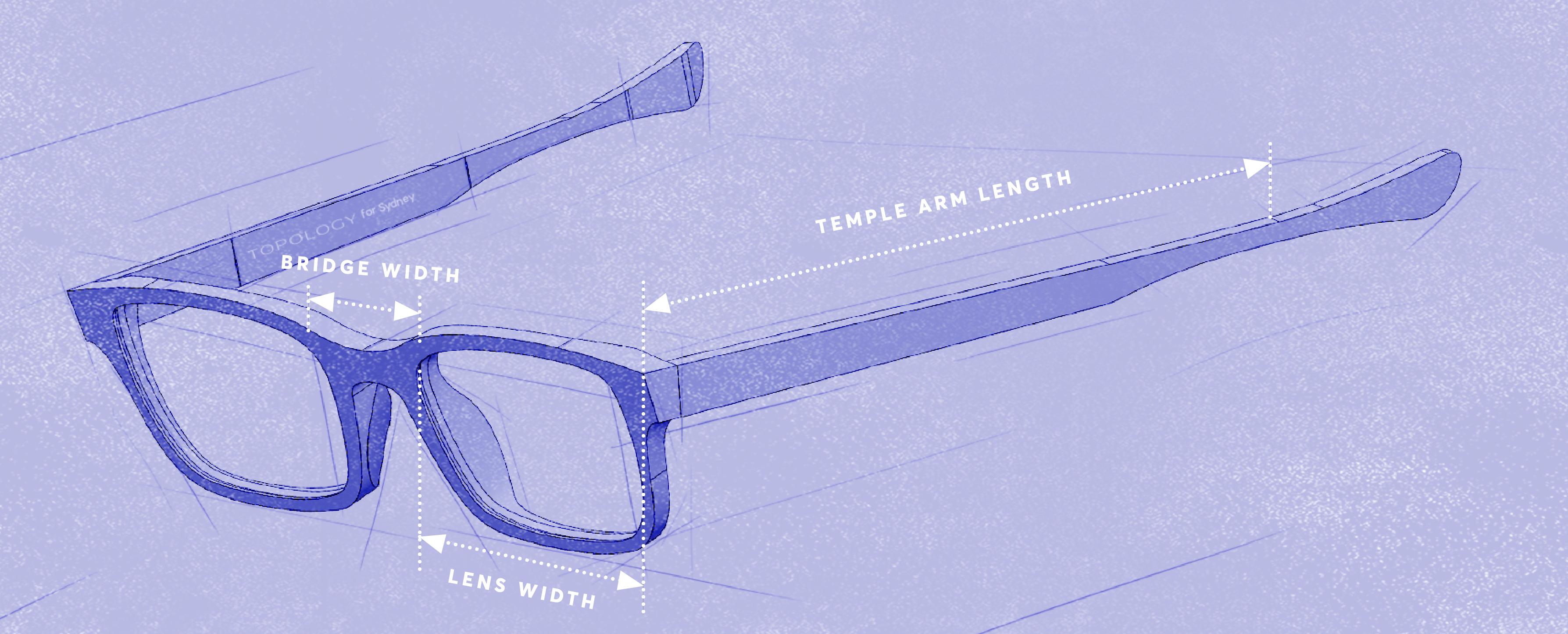 making sense of glasses measurements
