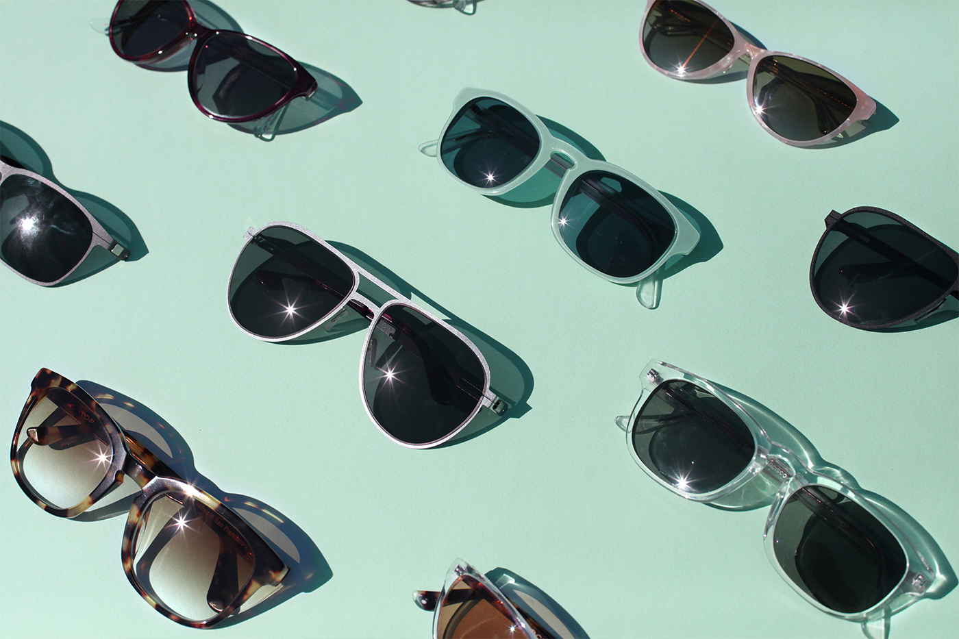 Topology Custom Sunglasses available in any color and prescription