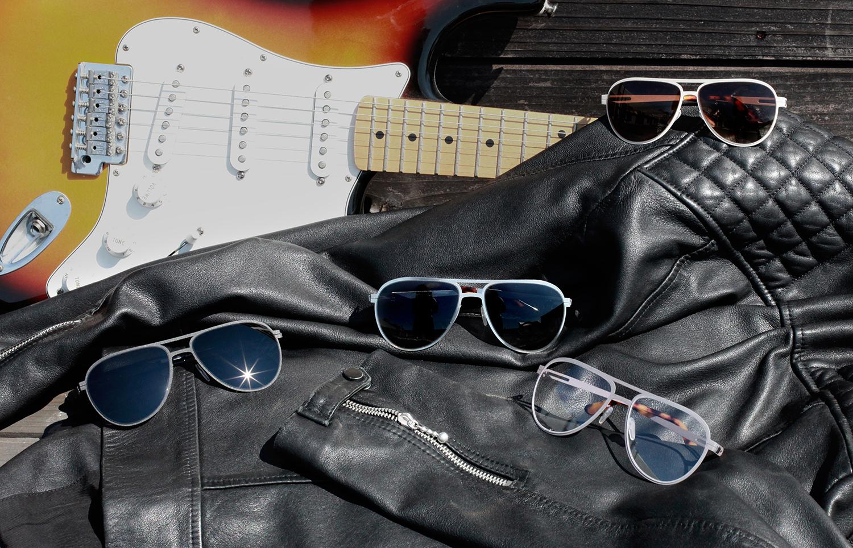 Range of custom-fit aviator sunglasses and eyeglasses from Topology eyewear.