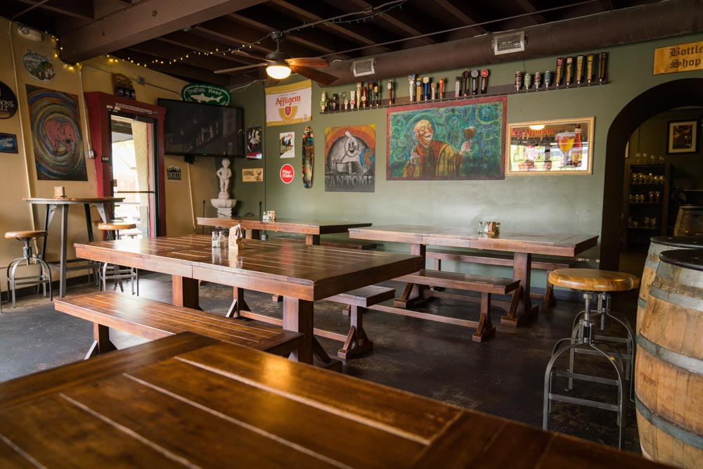 Pangaea Bier Cafe in Sacramento, CA was recommended as on of the best breweries by Sacramento locals.