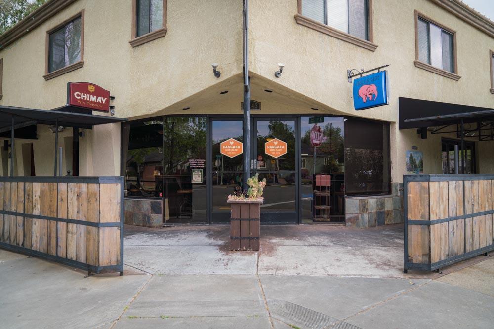 Exterior of Pangaea Bier Cafe in Sacramento, CA