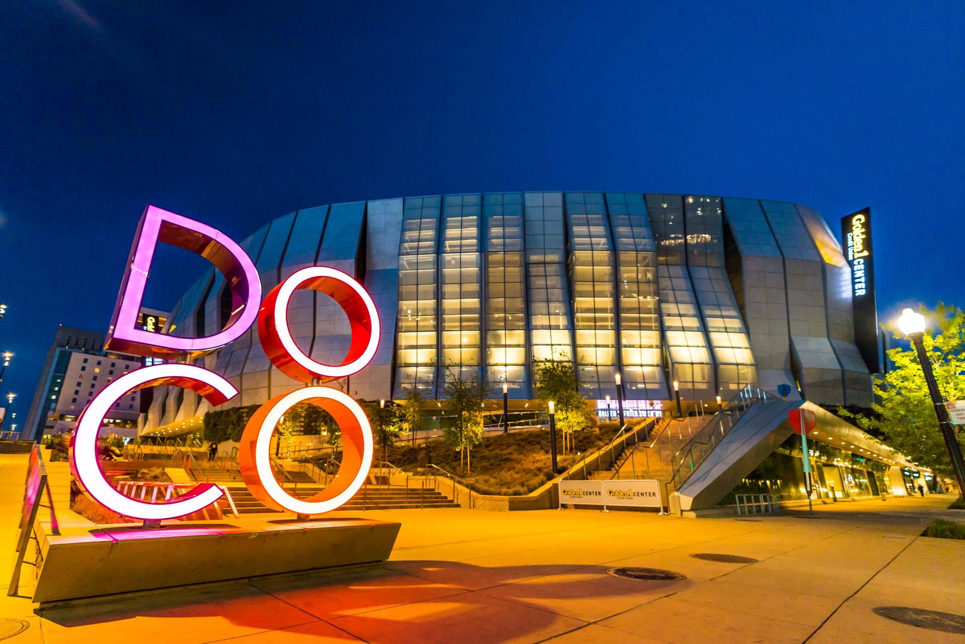The Golden 1 Center in Downtown Sacramento for Visit Sacramento.