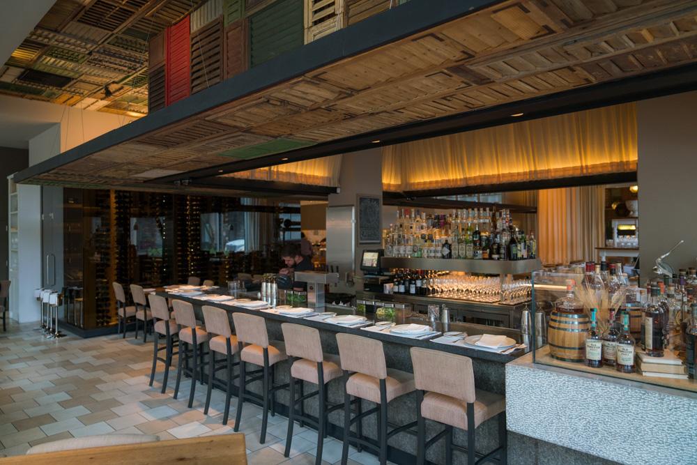 Interior of Ella Dining Room and Bar in Sacramento CA