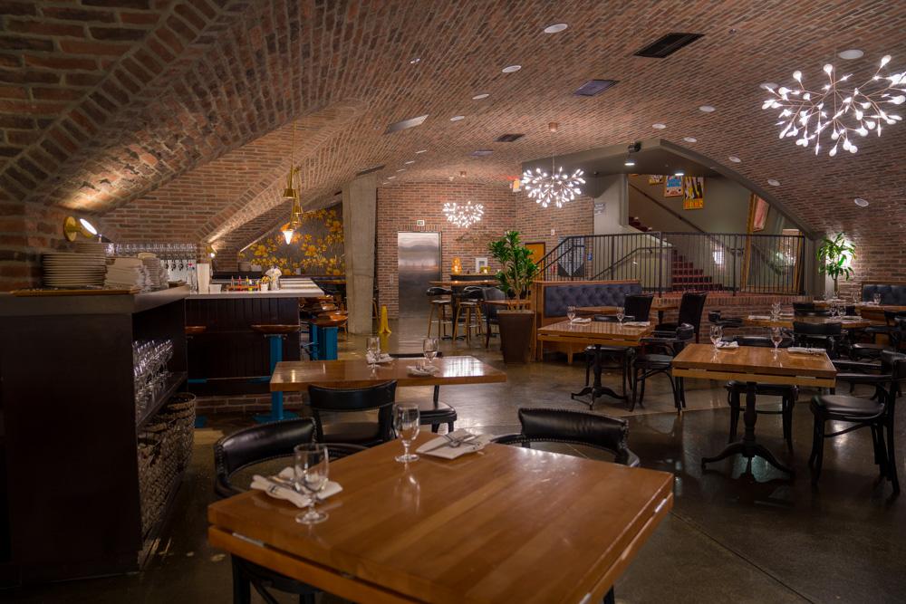 The inside of Empress Tavern in Downtown Sacramento for Visit Sacramento.