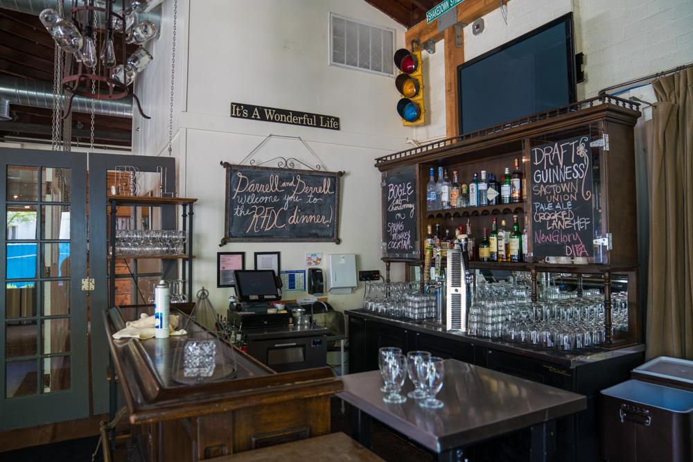 Interior of Mulvaney's B&L in Sacramento, CA