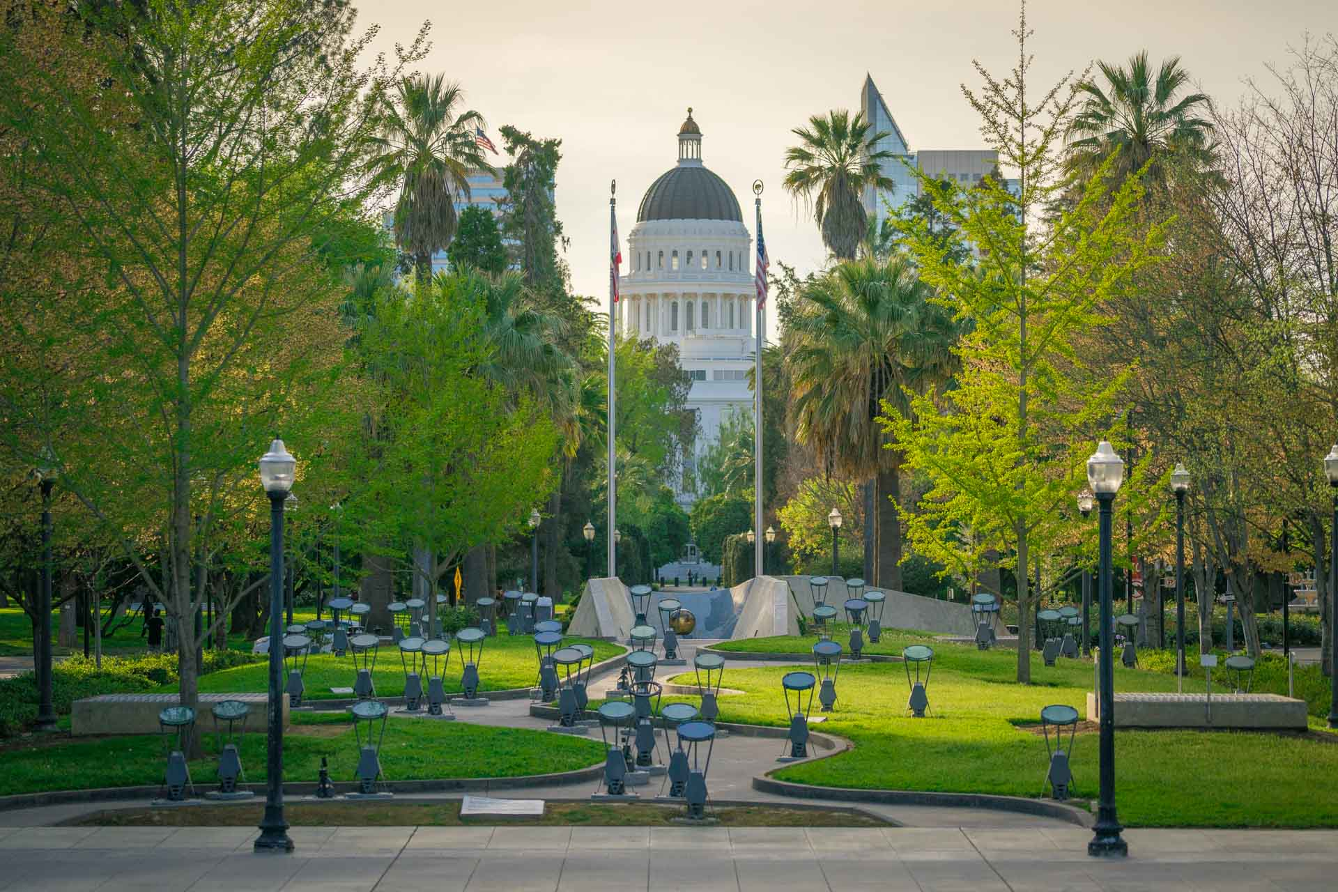 Capitol Park in Sacramento California