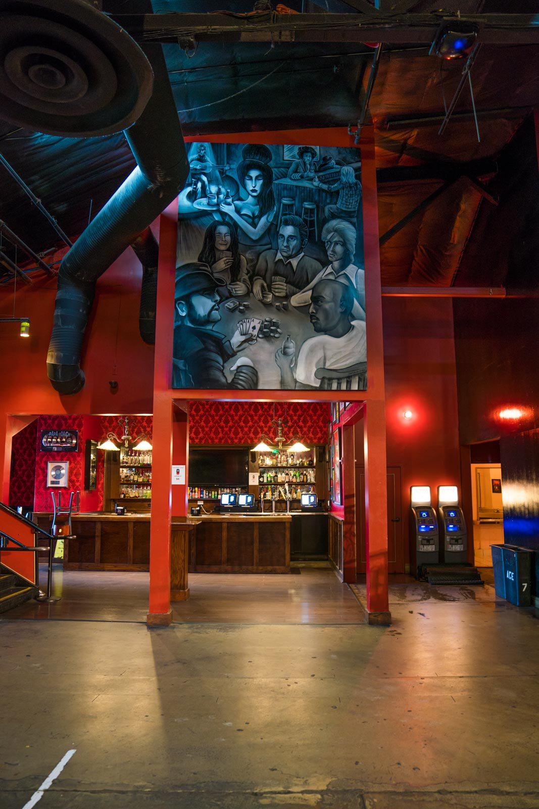 Interior of Ace of Spade in Sacramento, CA