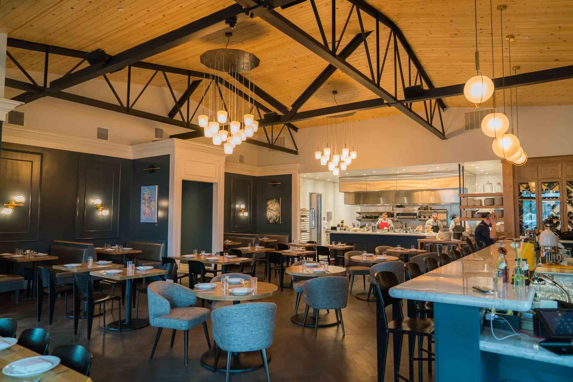 Interior of locally recommdended Canon restaurant in Sacramento, CA
