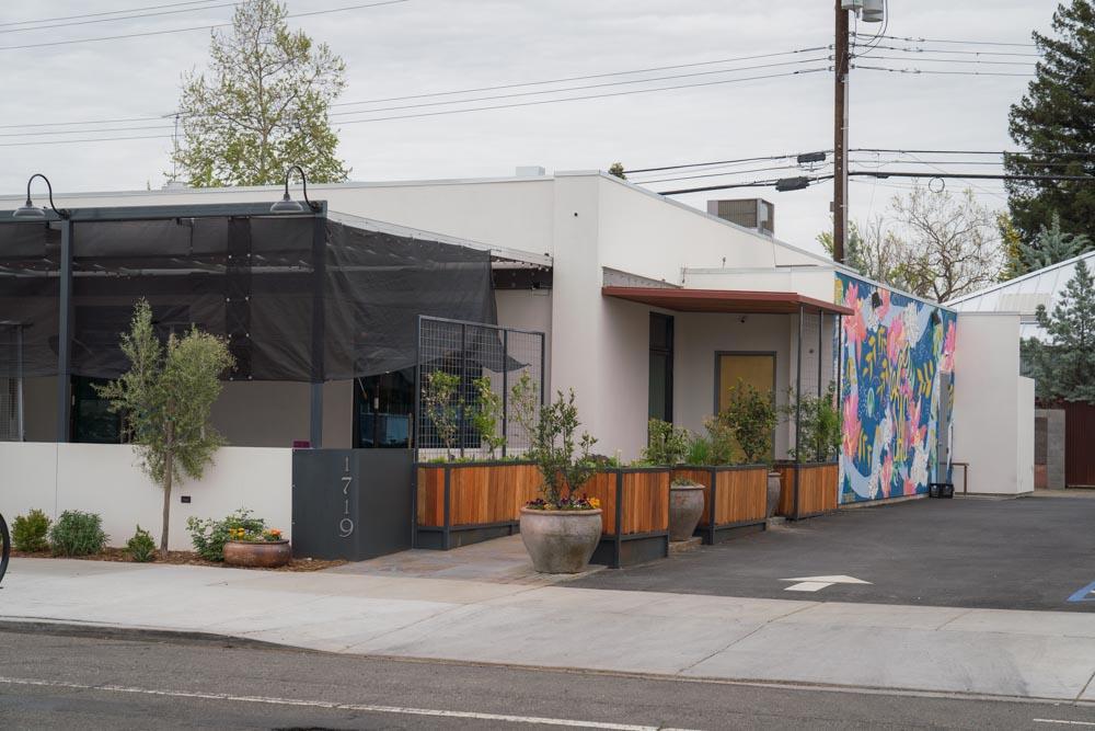 Exterior of Canon restaurant in Sacramento, CA
