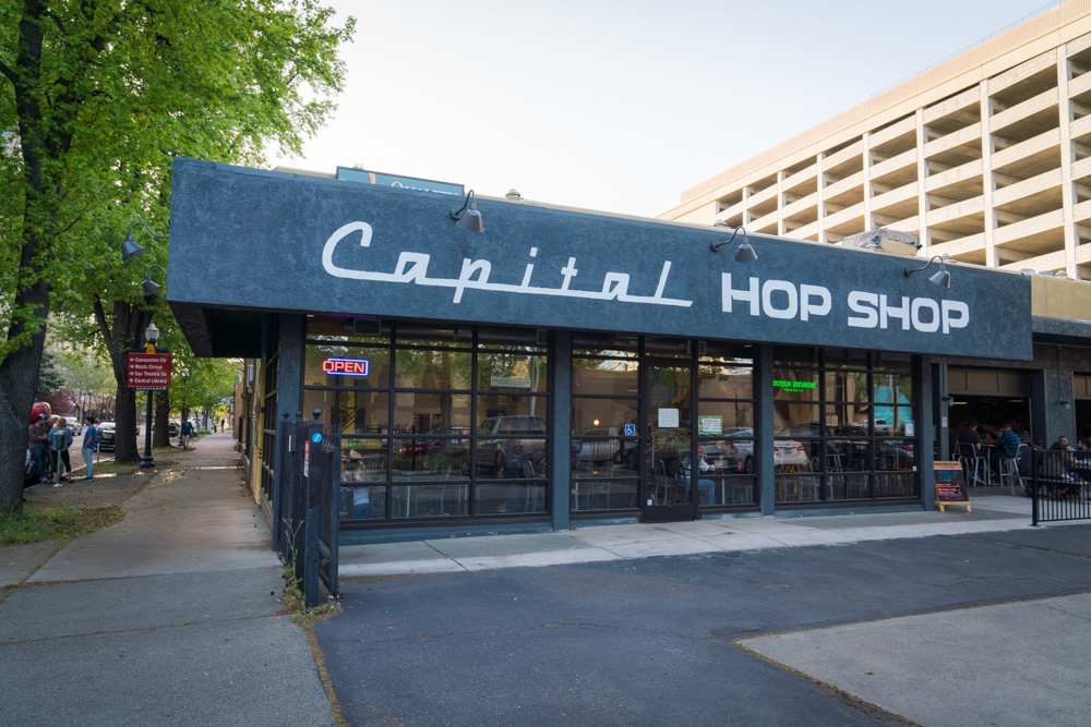 Capital Hop Shop in Sacramento, CA was recommended as on of the best breweries by Sacramento locals.