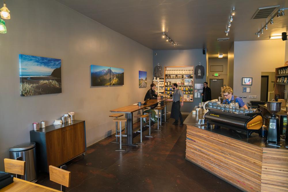 Chocolate Fish Coffee in Sacramento California