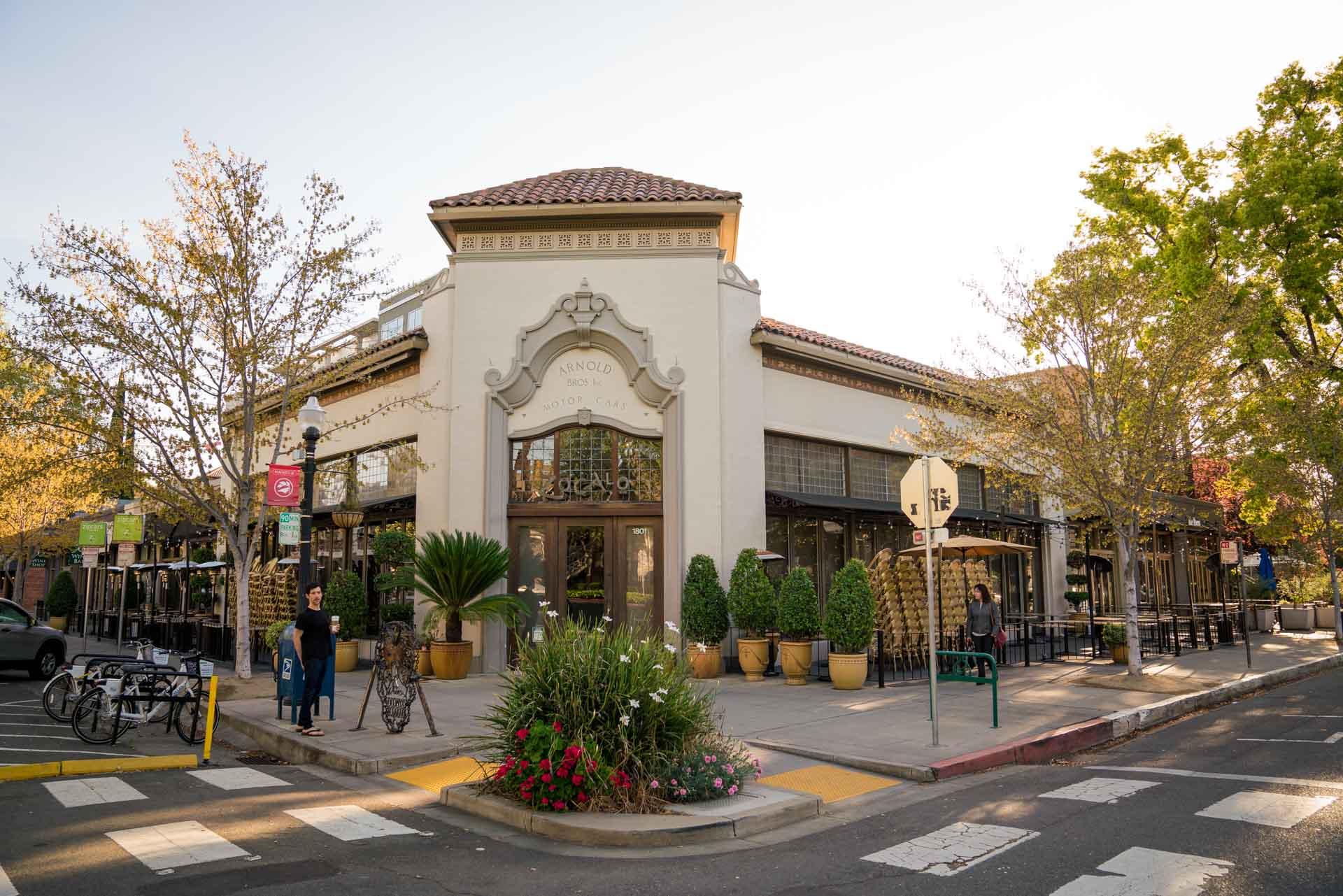 Exterior of Zocalo in Sacramento, CA
