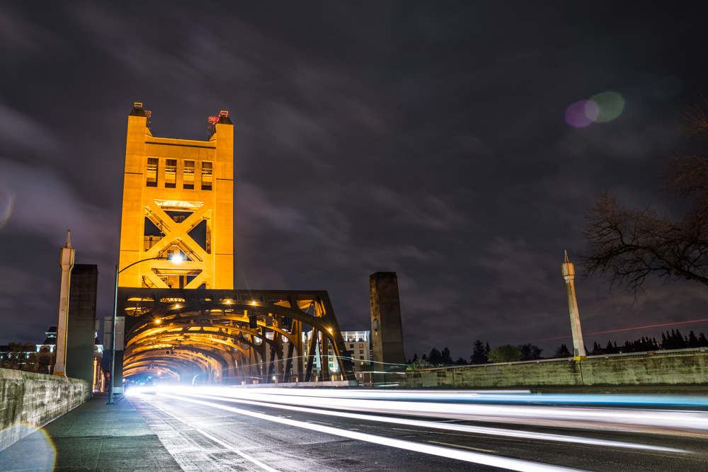 Tower Bridge, a landmark in Sacramento