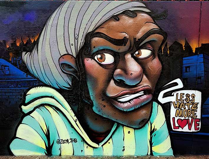 Graffiti Mural Profesional
