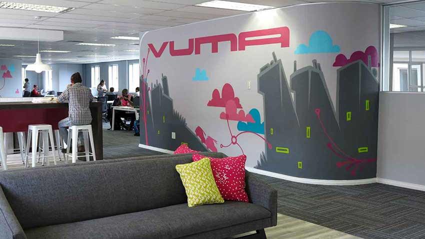 interior design wall art decor city skyline