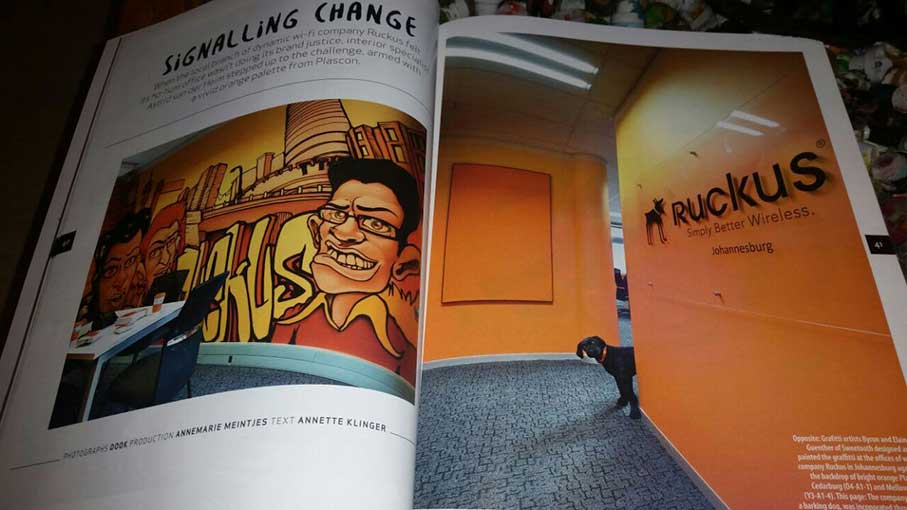 picture of unity murals project in plascon spaces magazine