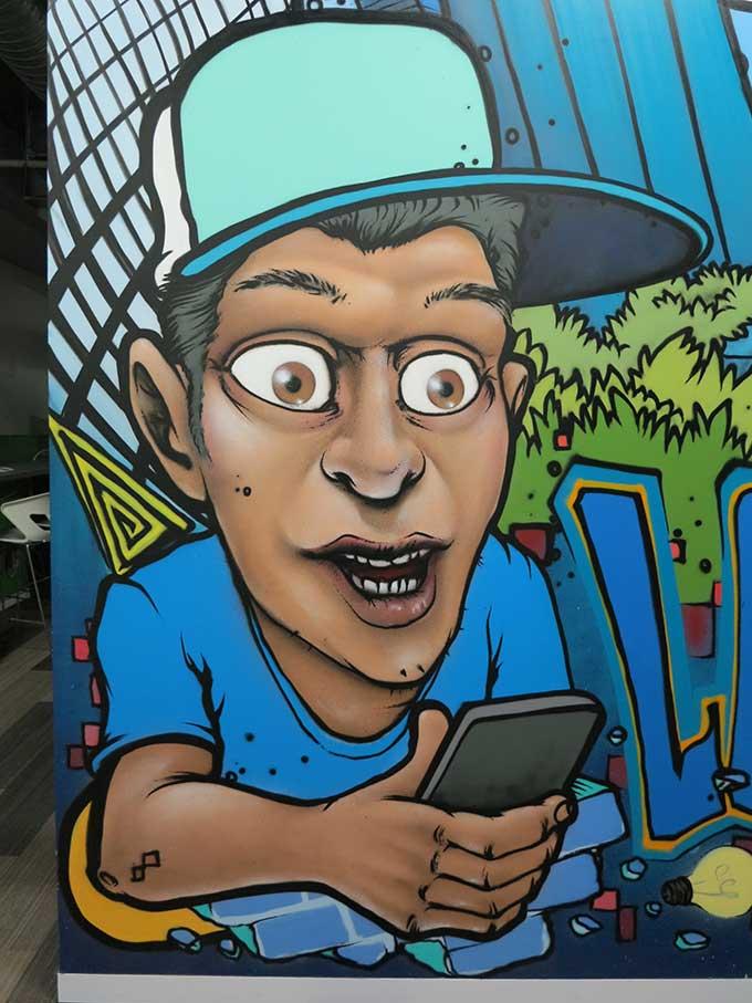 office mural wall art decor
