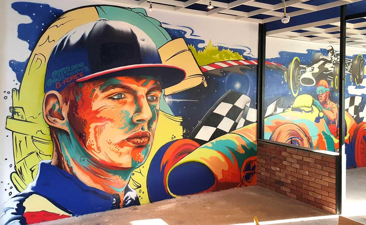 Mural Artist Rotterdam