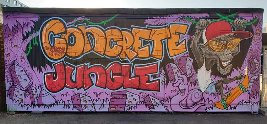 Street Art Mural for offices, Street Artists in Netherlands, Book a Street Artist NL, Street Artists NL