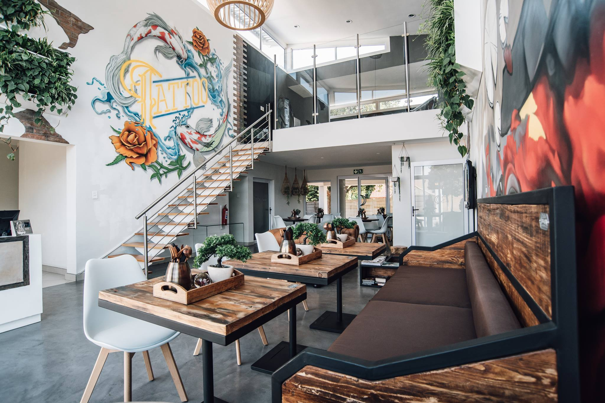 Street Art Mural painting at T-Mobile offices, mural artists for hire, street artists in netherlands