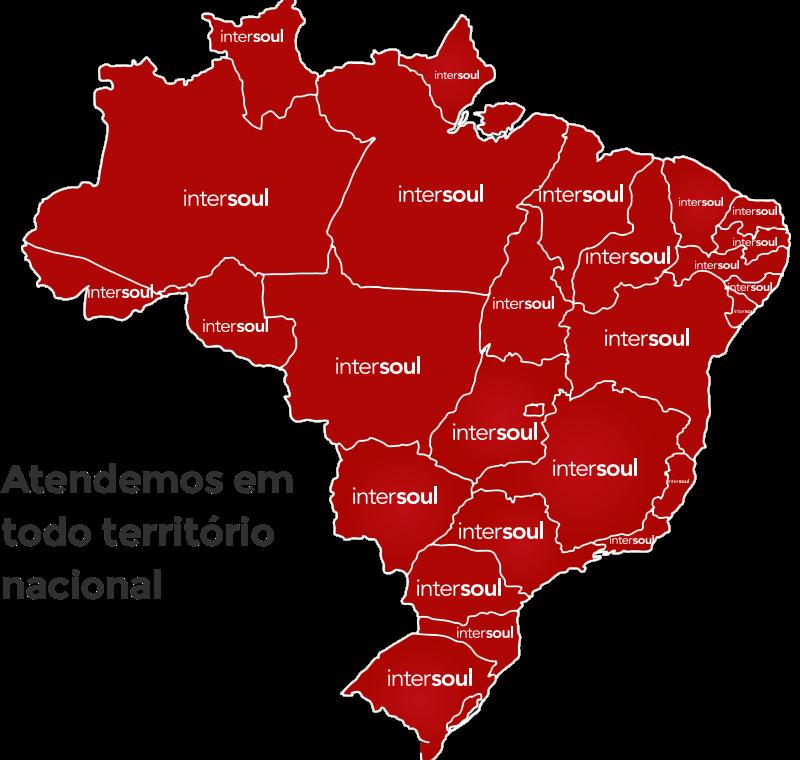 Mapa de atendimento Intersoul