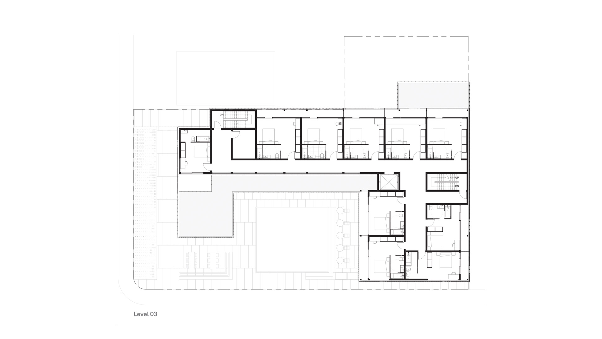 C7 Hotel + Brewery - Level 03 Plan — Timothy Mandody
