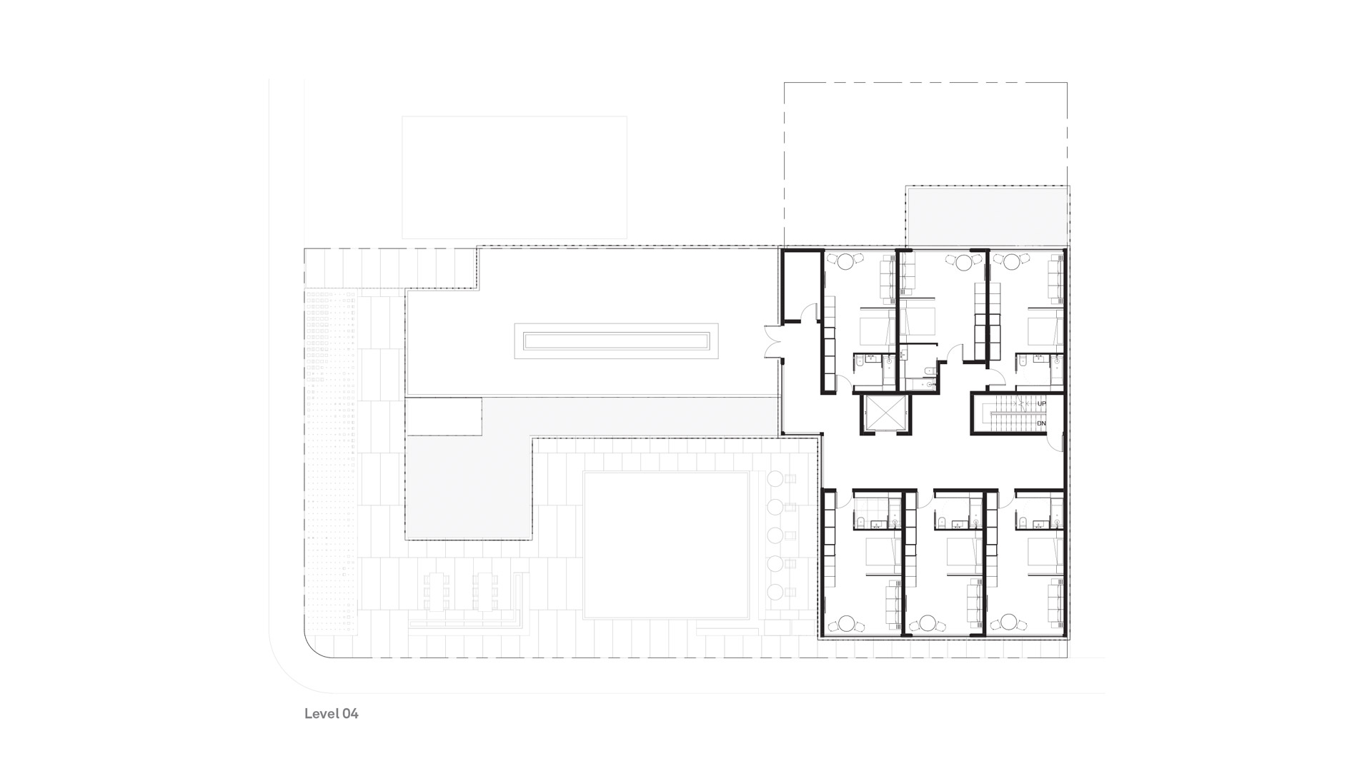 C7 Hotel + Brewery - Level 04 Plan — Timothy Mandody