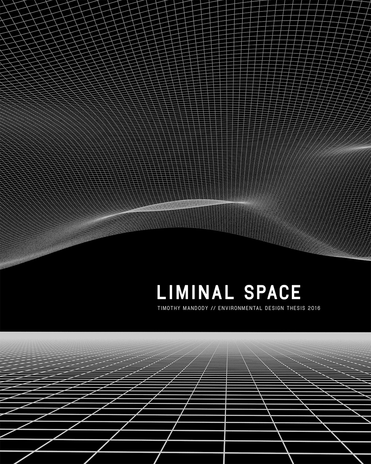 Liminal Space - Process Book Cover — Timothy Mandody