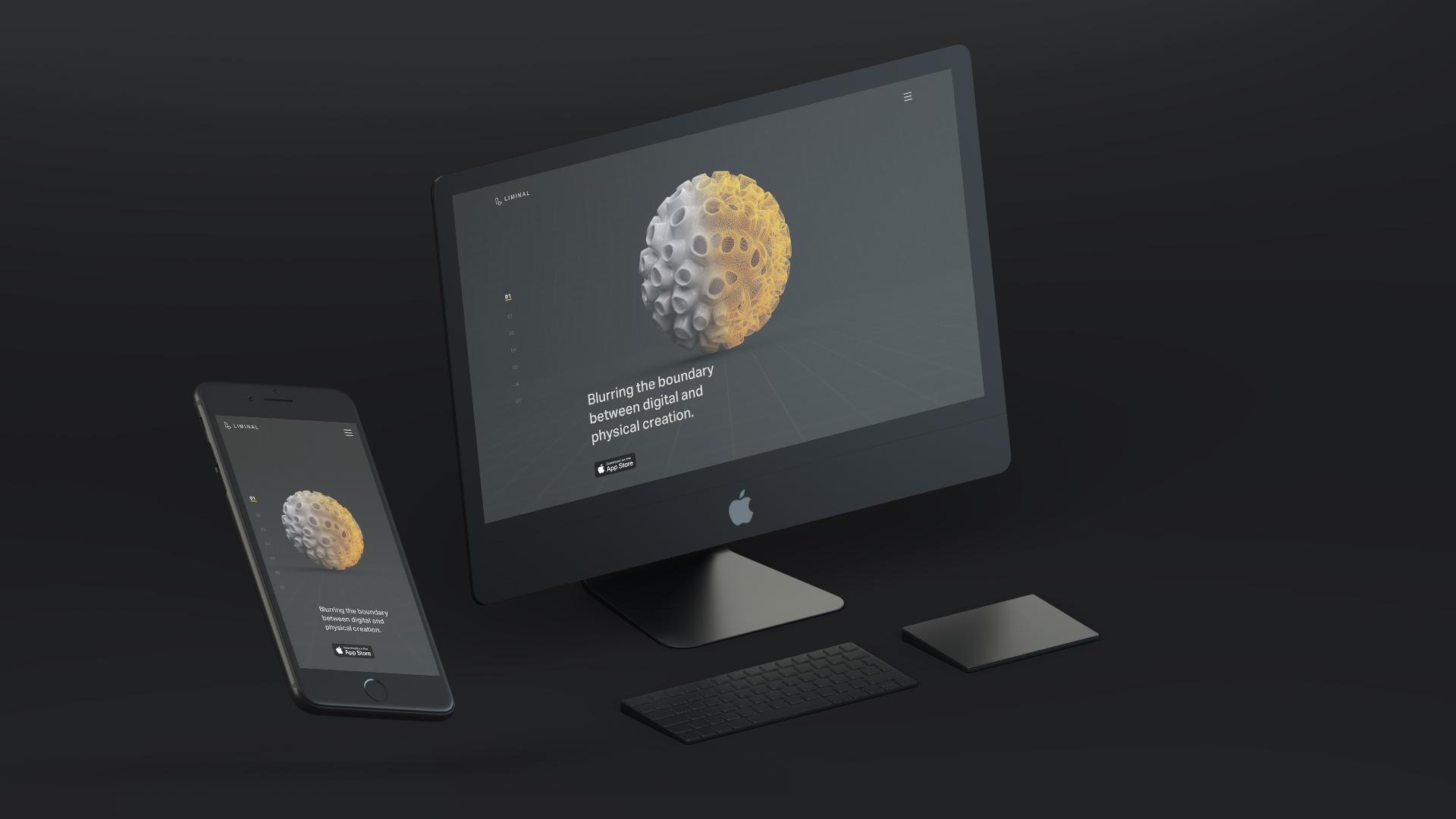 Liminal - Marketing Website — Timothy Mandody