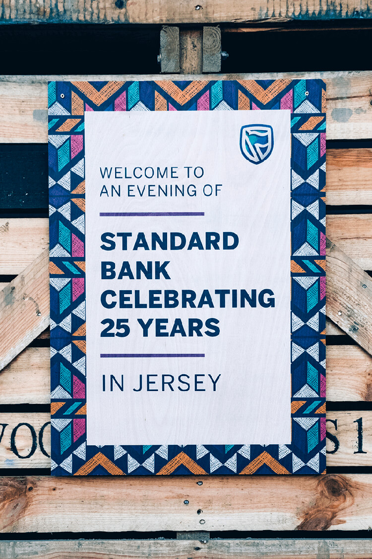 Image of work completed for Standard Bank