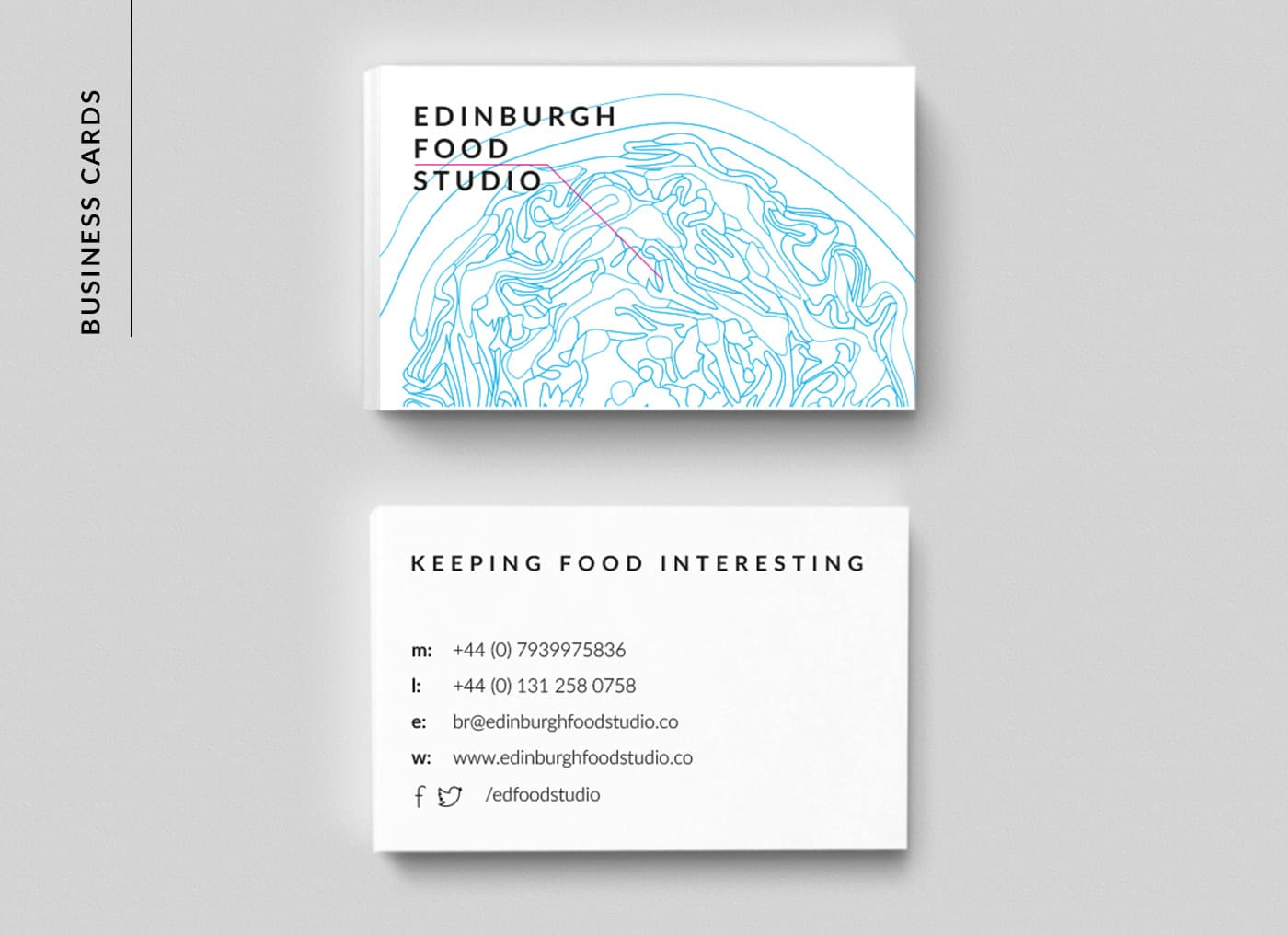EFS business card design
