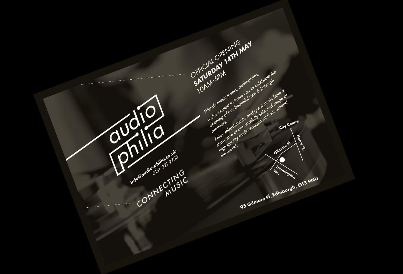 AudioPhilia Flyer