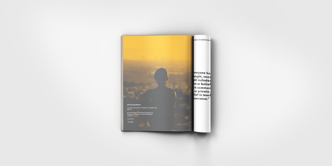 Magazine inside image