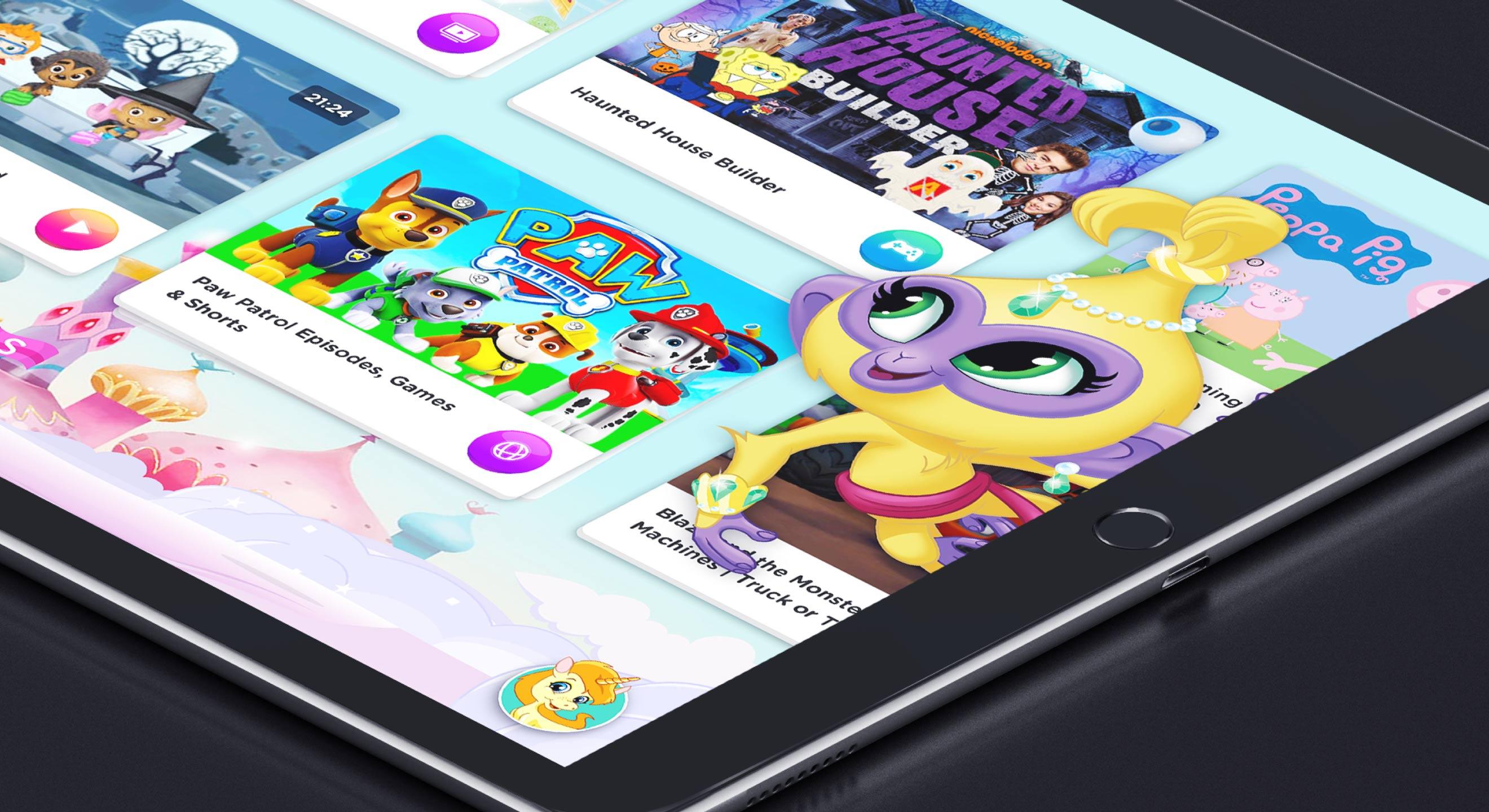 Nickelodeon Concept Screen