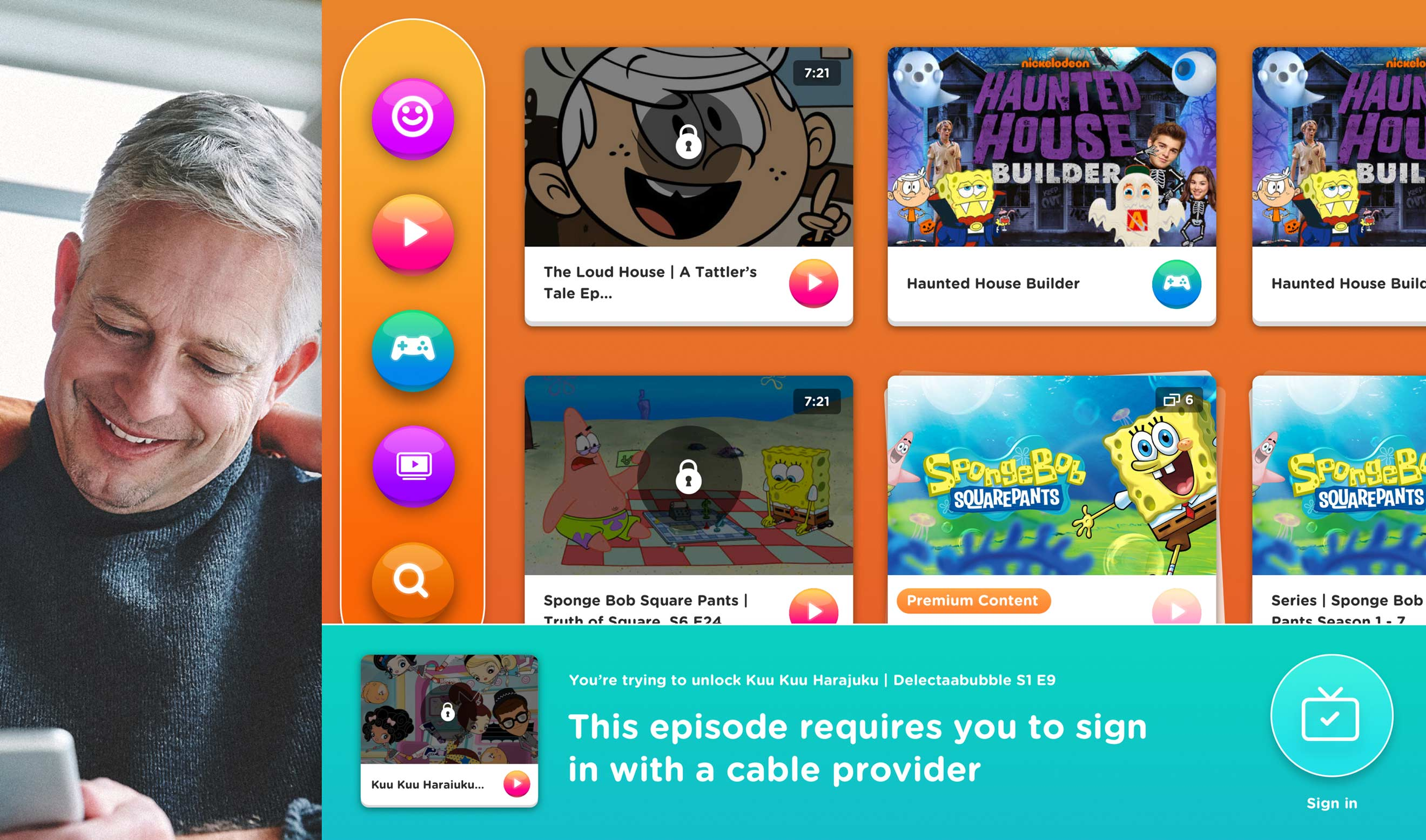 Nickelodeon Locked Content