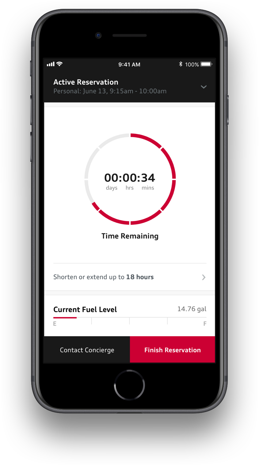 Audi Fuel Tracking